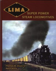 Cover of: Lima Super Power Steam Locomotives