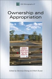 Cover of: Ownership And Appropriation