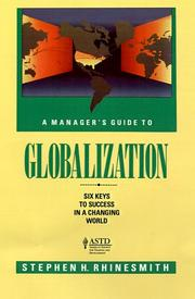 Cover of: A manager's guide to globalization | Stephen H. Rhinesmith