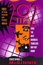 Cover of: 202 tips even the best business travelers may not know