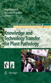 Cover of: Knowledge And Technology Transfer For Plant Pathology