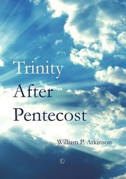 Cover of: Trinity After Pentecost