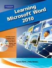 Cover of: Learning Microsoft Office Word 2010 With CDROM