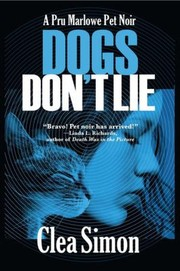 Cover of: Dogs Dont Lie A Pru Marlowe Pet Noir