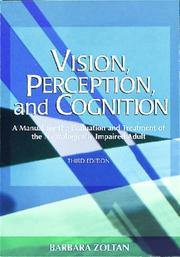 Cover of: Vision, perception, and cognition