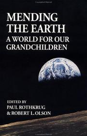 Cover of: Mending the earth |