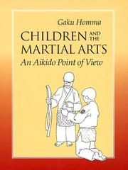 Cover of: Children and the martial arts