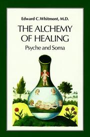 Cover of: Alchemy of Healing | Edward Md Whitmont