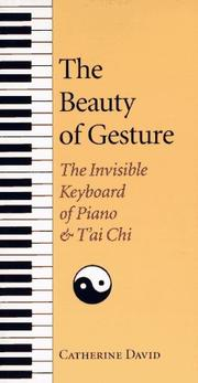 Cover of: The beauty of gesture