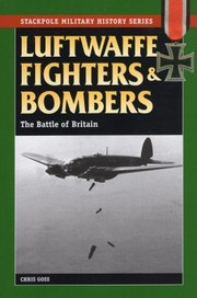 Cover of: Luftwaffe Fighters and Bombers