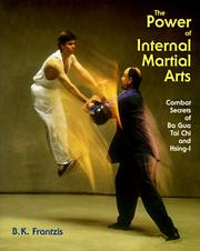 Cover of: The power of internal martial arts