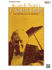 Cover of: Willard A Palmers Favorite Solos Book 1