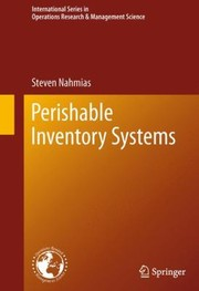 Cover of: Perishable Inventory Systems