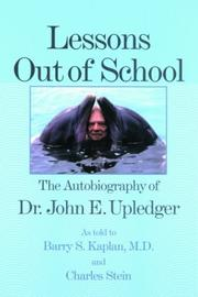 Cover of: Lessons out of school