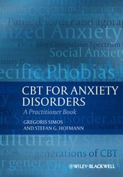 Cover of: CBT for Anxiety Disorders
