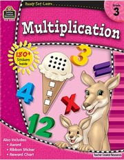 Cover of: Multiplication Grade 3 With 180 Stickers