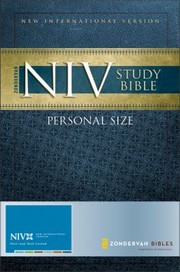 Cover of: Personal Size Study BibleNIV