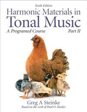Cover of: Harmonic Materials in Tonal Music Part II