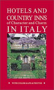 Cover of: Hotels and Country Inns of Character and Charm in Italy (Hotels & Country Inns of Character & Charm in Italy, 4th ed) | Michelle Gastaut
