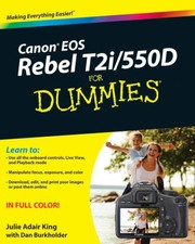 Cover of: Canon EOS Rebel T2i550D for Dummies