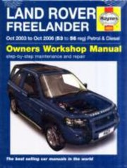 Cover of: Land Rover Freelander Petrol and Diesel Service and Repair Manual