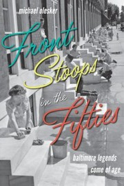 Cover of: Front Stoops in the Fifties