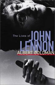 Cover of: The lives of John Lennon