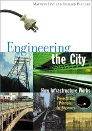 Cover of: Engineering the City | Matthys Levy