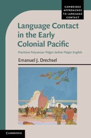 Cover of: Language Contact in the Early Colonial Pacific