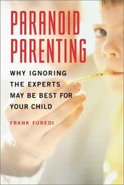 Cover of: Paranoid Parenting