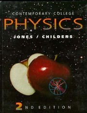 Cover of: Contemporary College Physics with School Binding