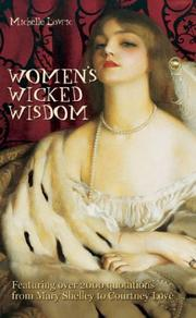 Cover of: Women's Wicked Wisdom