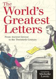 Cover of: The World's Greatest Letters