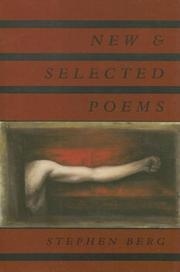 Cover of: New & selected poems | Stephen Berg