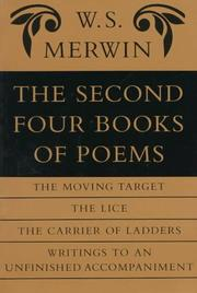 Cover of: The second four books of poems