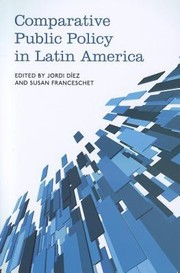 Cover of: Comparative Public Policy in Latin America