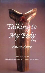Cover of: Talking to my body