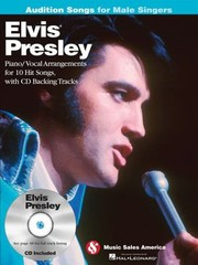 Cover of: Elvis Presley Pianovocal Arrangements For 10 Hit Songs With Cd Backing Tracks