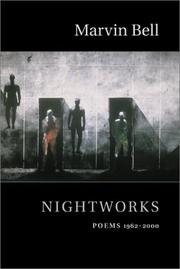 Cover of: Nightworks | Marvin Bell