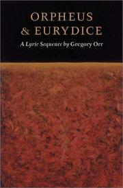 Cover of: Orpheus & Eurydice