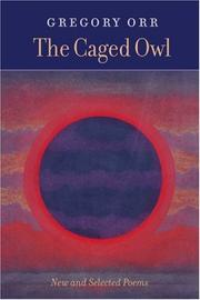 Cover of: The caged owl