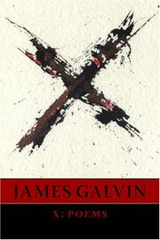 Cover of: X: poems
