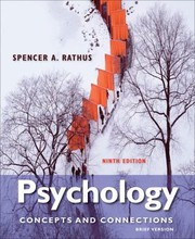 Cover of: Psychology Concepts Connections Brief Version