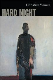 Cover of: Hard night | Christian Wiman