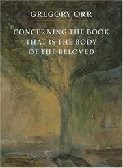 Cover of: Concerning the book that is the body of the beloved
