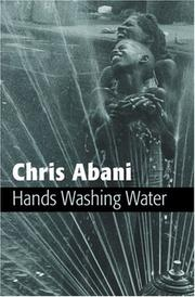 Cover of: Hands Washing Water