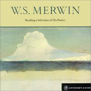 Cover of: W.S. Merwin