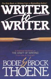 Cover of: Writer to writer