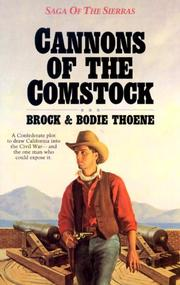 Cover of: Cannons of the Comstock