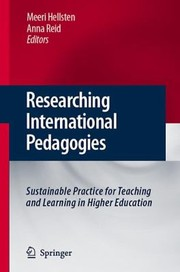Cover of: Researching International Pedagogies